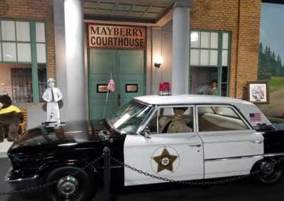 A homage to Mayberry from The Andy Griffith Show